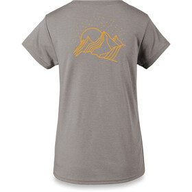 Dakine Mountain Stars Tech T-shirt Dames, heather graphite
